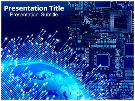 digital electronics template 6 best images of electronics powerpoint template themes