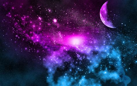 The Galaxy Background Galactic Wallpaper Backgrounds Wallpapersafari