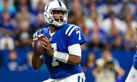 indianapolis colts jacoby brissett   pace   huge