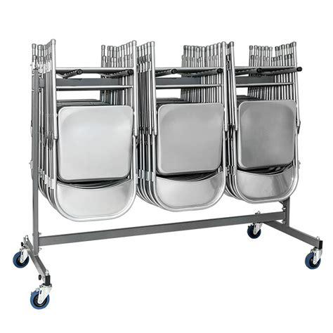 Chariots De Rangement Pour Chaises Pliantes Ou Coques