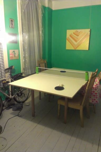homemade ping pong table diy ping pong table the reality tunnel