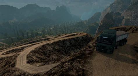 map dangerous roads upd   ets mods