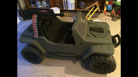 Power Wheels Jeep Hurricane Modification Youtube