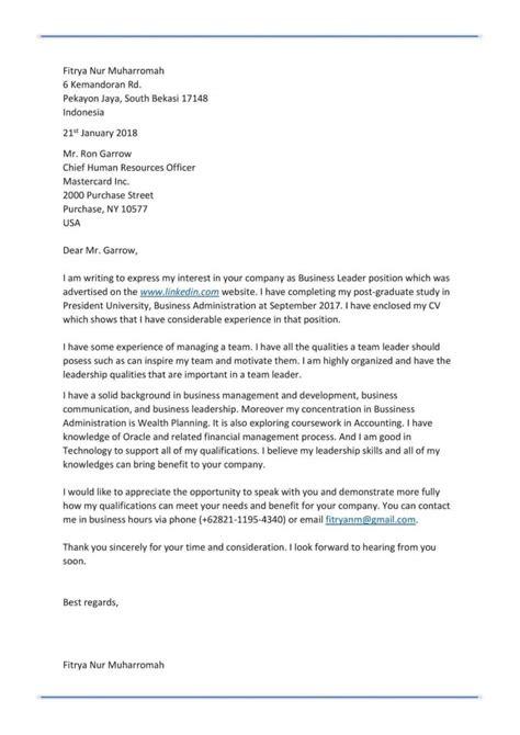 Surat Lamaran Kerja 2017 by 25 Contoh Surat Lamaran Kerja Yang Baik Dan Benar Doc