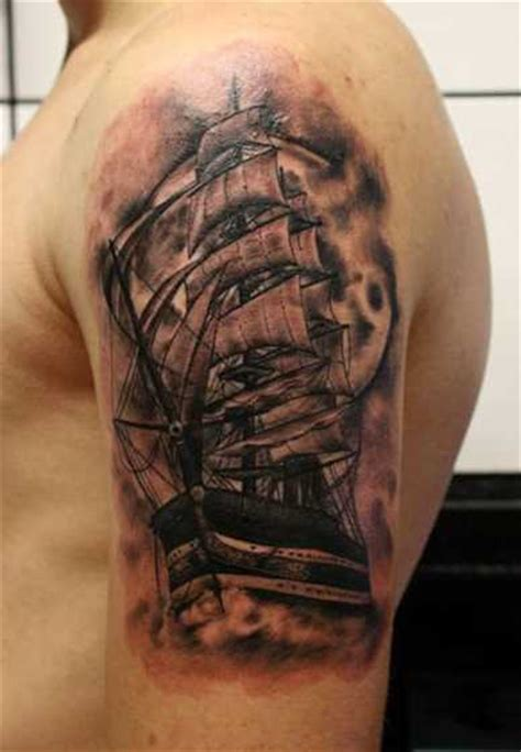 Ship Tattoo by Ship Tattoos Designs Ideas And Meaning Tattoos For You