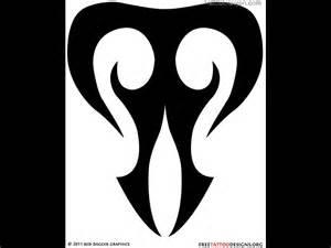 Tribal Taurus Tattoo Symbols