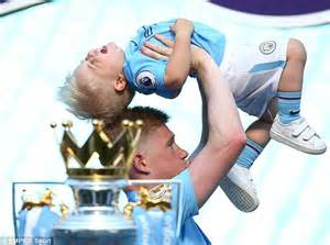 Sons of Manchester City stars Kevin De Bruyne and Raheem ...
