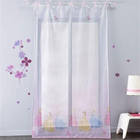 voilage chambre fille voilage princesse disney 140 x 240 cm plushtoy
