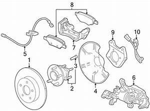 2015 Chevrolet Cruze Disc Brake Caliper  Right  Brakes  Rotor