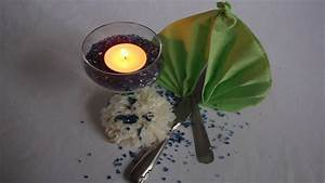 Servietten Falten Tischdeko : servietten falten einfach tischdeko selber machen youtube ~ Markanthonyermac.com Haus und Dekorationen