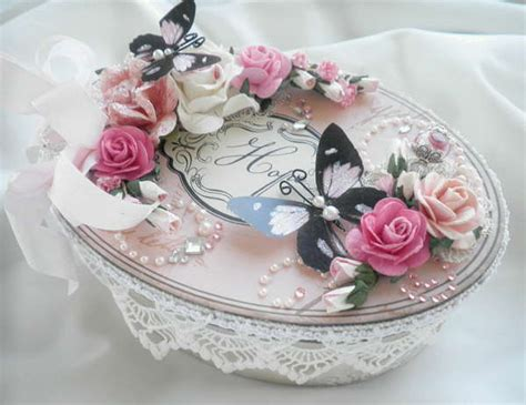 shabby chic hat boxes other shabby chic vintage hat box