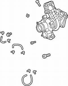 Buick Regal Tourx Turbocharger  Liter  Components  Engine