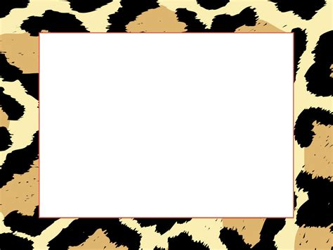 Animal Frame Wallpaper - cheetah print border www imgkid the image kid has it