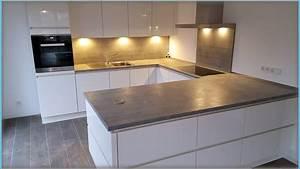 Küche In Betonoptik : unsere neue k che haus update video gabelschereblog ~ Michelbontemps.com Haus und Dekorationen