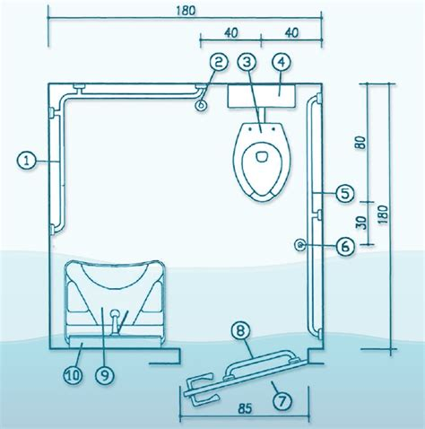 Bagno Handicap bagni per disabili a norma vasche specchi lavabi