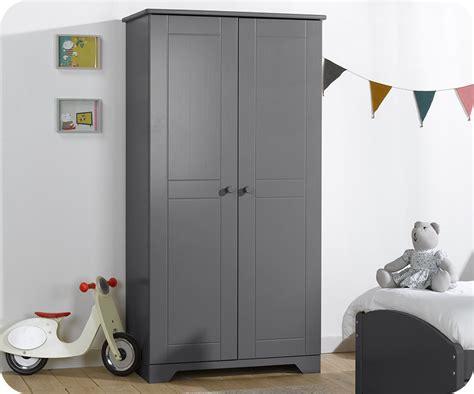 armoire chambre enfants armoire enfant nature anthracite