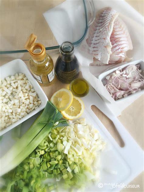 cuisiner lieu jaune recette lieu jaune aux poireaux magazine omnicuiseur