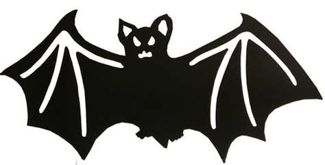 halloween bat silhouette cut  decoration