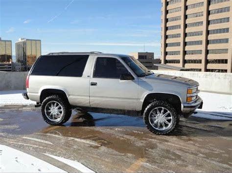chevrolet  door tahoe   lifted rare truck