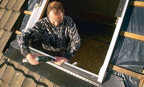 dachfenster selber einbauen dachfenster einbauen neubau planung selbst de