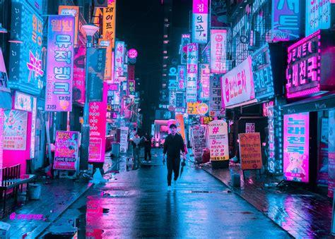 itap  neon reflections itookapicture