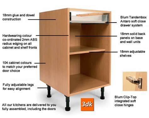 Ready Made Kitchen Drawers by Ready Made Fitted Kitchen Carcasses Quality Rigid