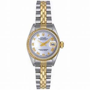 Rolex Datejust 2-tone Steel and Gold Ladies Watch 69173 ...