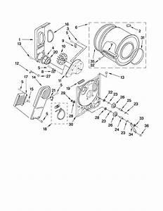 Bulkhead Parts Diagram  U0026 Parts List For Model 11060022010