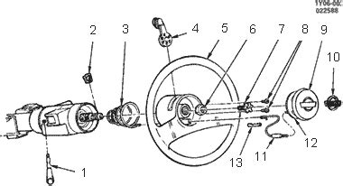 84 Chevy Steering Column Wiring Diagram by Steering Wheel Horn Parts White Racing Products Llc