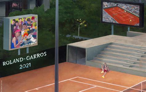 Ugo humbert @ paris 28 may 2021 roland garros tennis french open / mai 2021. Roland-Garros : l'affiche de l'édition 2021 dévoilée