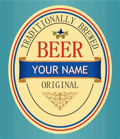 beer label vector  vector    vector