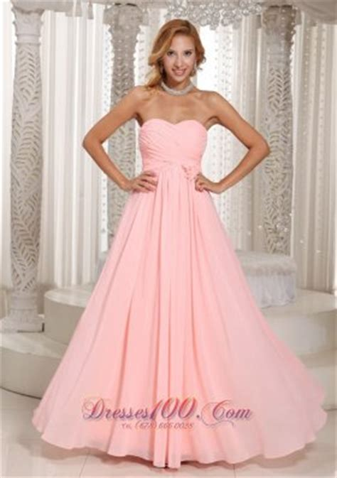 baby pink bridesmaid dresses ruched flower baby pink bridesmaid dress us 126 89