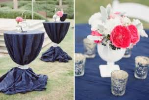 Navy and Coral Wedding Colors