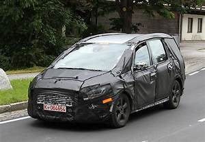 All-new Ford Galaxy Spied For The First Time