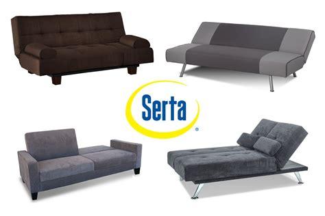 Klik Klak Sofa Bed by Serta Dream Convertible Klik Klak Futons Collection