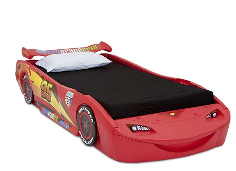 Delta Children Cars Lightning Mcqueen Twin Bed With Lights