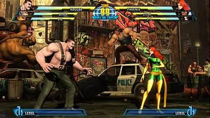 Capcom Marvel Haggar Fighting Games Ko Phoenix