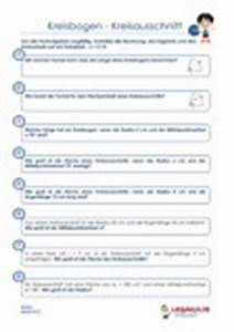 Kreisausschnitt Radius Berechnen : arbeitsbl tter textaufgaben kreisbogen kreisausschnitt ~ Themetempest.com Abrechnung