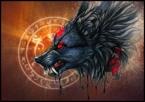 Alpha Wolf Blood Moon Wolf Wallpaper by Black Blood By Whitespiritwolf On Deviantart