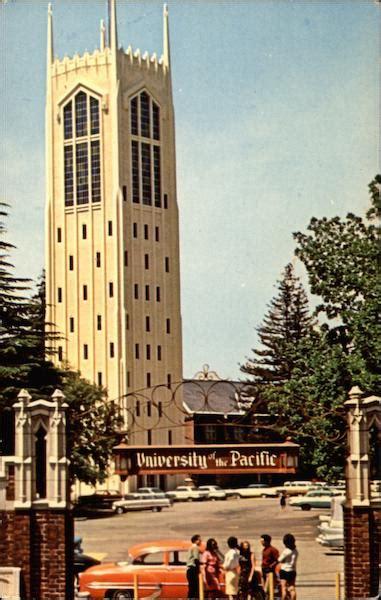 burns tower university  pacific stockton ca