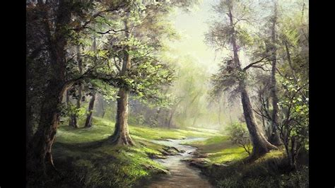 Are You Fascinated By Forest Landscapes Where The Sunlight