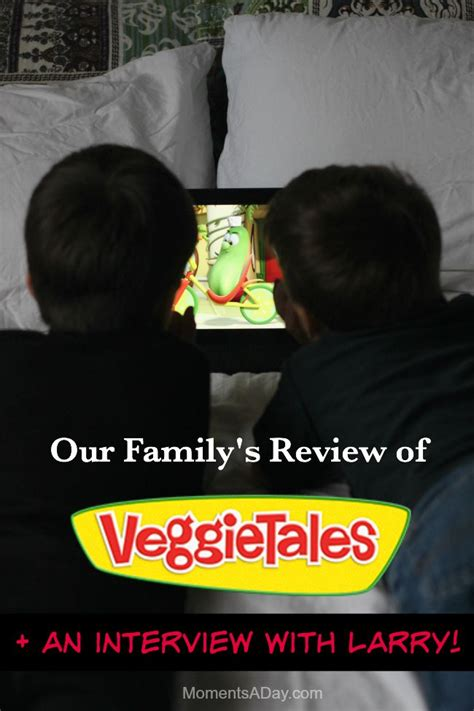 Review Why We Like Veggietales (+ An Interview With Larry