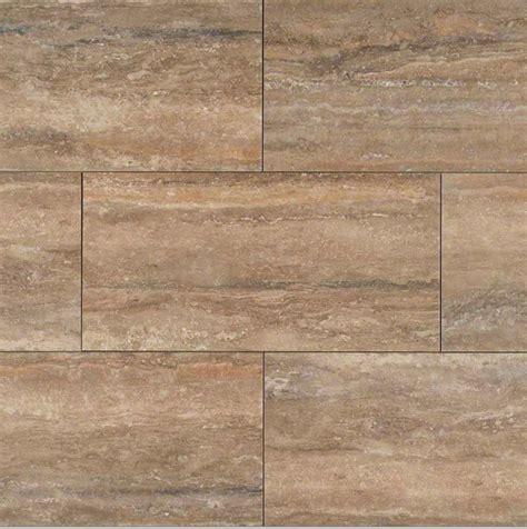 12x24 ceramic floor tile ms international veneto noce 12x24 quot travertine porcelain tile