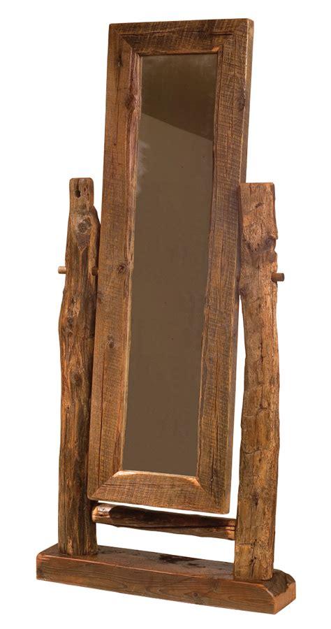 teton floor mirror rustic furniture mall  timber creek