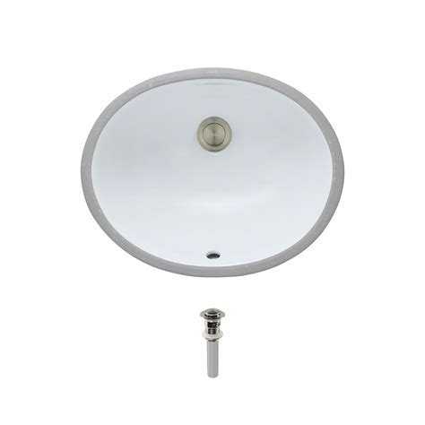 mr direct undermount porcelain bathroom sink in white with