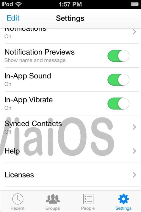 how to log messenger on iphone working logout of messenger on iphone ios 8