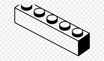 Brick Clipart Lego Blocks Coloring Pages Transparent