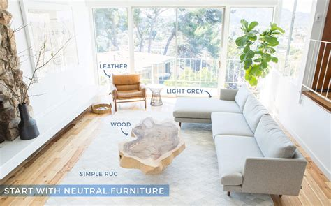 neutral furniture how to add style to a neutral living room emily henderson