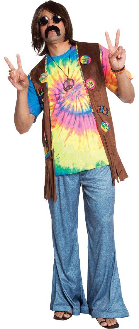 Menu0026#39;s Hippie Costume Accessories - Party City