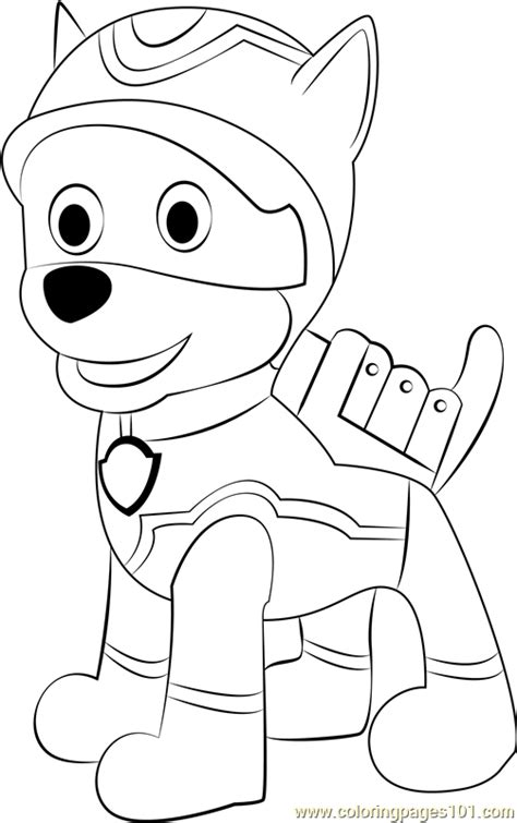 super spy chase coloring page  paw patrol coloring
